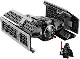 Small Picture LEGO Star Wars Darth Vaders TIE Fighter Set Review Pictures