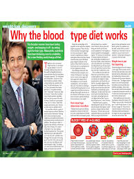 Blood Type Diet Chart 9 Free Templates In Pdf Word Excel