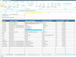 financial budget template best personal budget template download excel crown financial