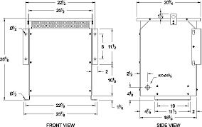 25 kva 480 volt to 120 240 volt isolation transformer sc25h k z 480 To 208 Transformer Diagram isolation transformer general dimensions 480 to 208 volt transformer diagram