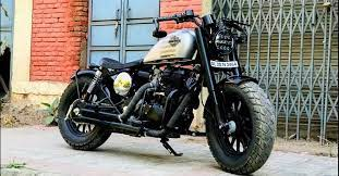 clic harley davidson bobber video