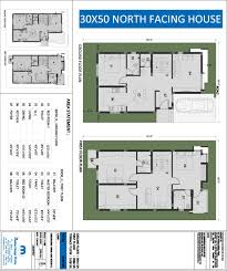 south facing home plans inspirational north facing house plan 110 yards house plans new duplex house