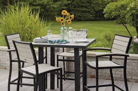 image of high top patio table house designs inside patio table and chairs patio table
