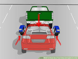 how to hook up a tow dolly and lights to a car pictures image titled hook up a tow dolly and lights to a car step 9