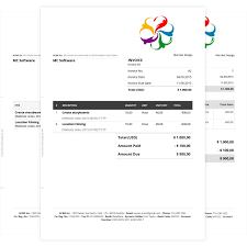 How To Create A Professional Invoice Service Invoice Templates For Excel 20312600218