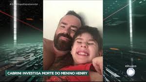 Exclusivo: Roberto Cabrini entrevista a mãe e o padrasto do menino Henry  Borel. - YouTube