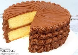 amazing yellow cake from scratch recipe by mycakeschool com so moist