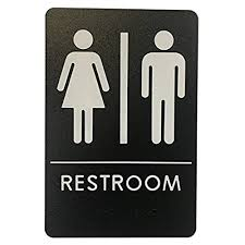 Handicap Bathroom Signs Delectable Women's Bathroom Signs Amazon