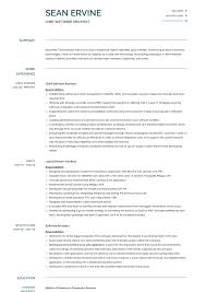 Resume Examples Architect Software Architect Resume Samples And Templates Visualcv