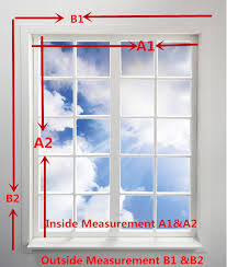 Measurement Window How To Measure Windows For Blinds Brilliant Drapery