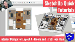 creating our first floor plan in layout sketchup apartment interior design modeling 4 the sketchup essentials