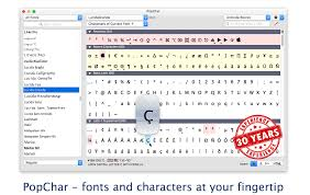 Html Symbols Chart Popchar Fonts And Characters At Your Fingertip Type