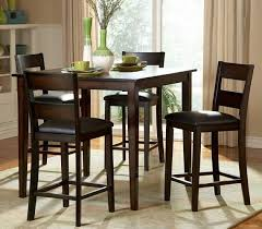 dining table with high chairs for small es home interior design ideas picture 06