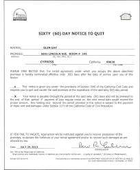 how to write a rent increase notice best photos of 60 day rent increase notice 60 day notice to vacate