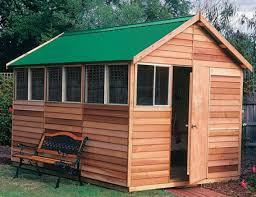 backyard office shed. Backyard Office -sherbrooke_deluxe_2.5m_x_3.6m_x_2.65m_gable_roof_timber_shed_with_4_windows Shed