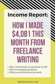 best lance writing images extra money   lance writing income report 2016
