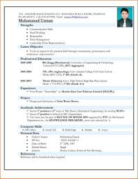 Incredible Mechanical Engineer Resume Templates Template Ideas