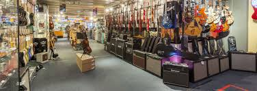 Musical Instruments Showroom