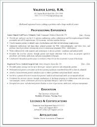 Nursing Resume Example – Resume Bank