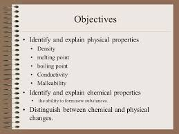 malleability chemistry. objectives identify and explain physical properties density melting point boiling conductivity malleability chemistry a