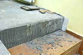 concrete slab removal how to remove vinyl floor tiles from concrete removing tile floor removing tile adhesive from wall