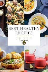 best healthy recipes of 2017