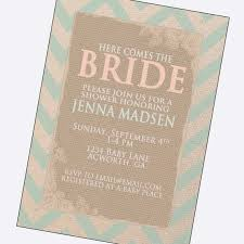 Printable Chevron Letters Vintage Bridal Shower Invitations Bride Letters Country