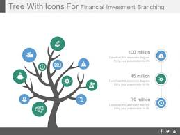 tree diagram powerpoint tree diagram for financial investment planning powerpoint slides