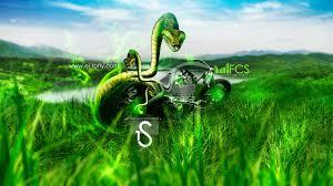 harley davidson snake moto fantasy