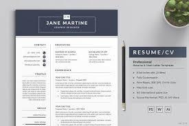 Graphic Designer Resume Template Classy Resume Templates Design ResumeCV CreativeWork40 Fonts