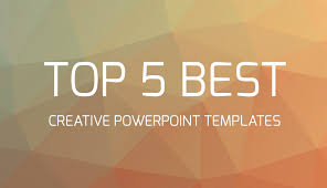 Ppt Templates For Academic Presentation Top 5 Best Creative Powerpoint Templates Youtube