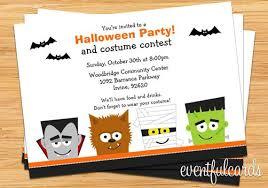 Halloween Party Invitation Printable Haunting Halloween