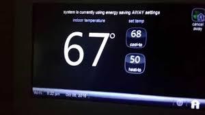 lennox wifi thermostat. lennox icomfort wifi away mode issue? wifi thermostat