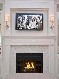 i like the herringbone pattern around the fireplace minus tv cottage and vine client inspiration fireplace surrounds built ins