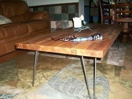 block coffee table butcher block coffee table and end table engine block coffee table diy