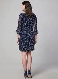Karl Lagerfeld Paris Polka Dot Dress Melanie Lyne