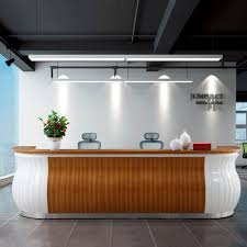 office reception desk design reception. 2016 NEW Design Office Reception Desk Table For Big Space #3628-in Desks From Furniture On Aliexpress.com | Alibaba Group R