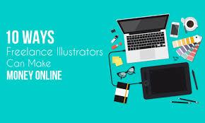 Easiest Online Jobs 10 Easy Ways Freelance Illustrators Can Make Money Online