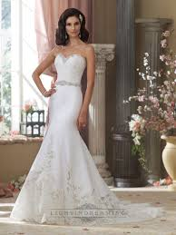 Beaded Sweetheart Lace Appliques Mermaid Wedding Dresses With