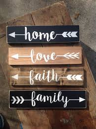 One Word Signs Decor 60 best Paint Projects images on Pinterest Scripture verses 1