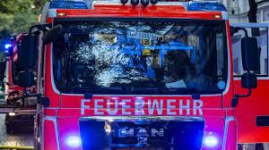 Münchensolln Kellerbrand Kachelofen Geht In Flammen Auf