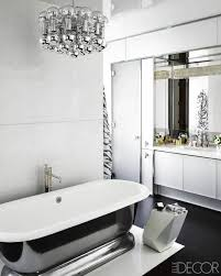 luxury black and white bathroom design