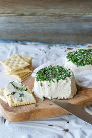 including that craving for roasted garlic fresh herb cream cheeze aka vegan boursin