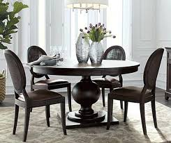 round dining tables is a great solution for a smaller room because of their round shaped and spacious legroom they create a welcoming friendly and