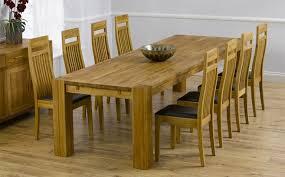 oak dining table sets great furniture trading company the gorgeous oak dining table and 8 chairs