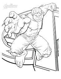 Hulk Coloring Pages Printable Hulk Coloring Pictures She Hulk