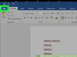 word microsoft templates 6 ways to use document templates in microsoft word wikihow