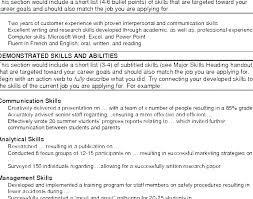 Summary For A Resume Examples Functional Summary On Resume Example Extraordinary Functional Summary Examples