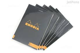 Lined Stationery Paper Impressive Rhodia R Premium Notepad No 4484848 448484844848 X 4484848 Lined Black