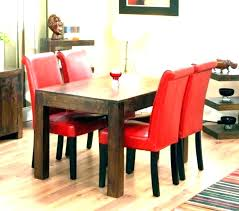 red dining room set red dining room set leather chairs contemporary sets cherry cont dining table